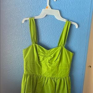 green lilly pulitzer dress